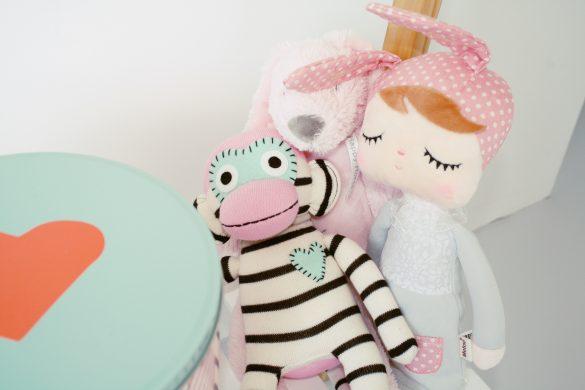 babykamer knuffels