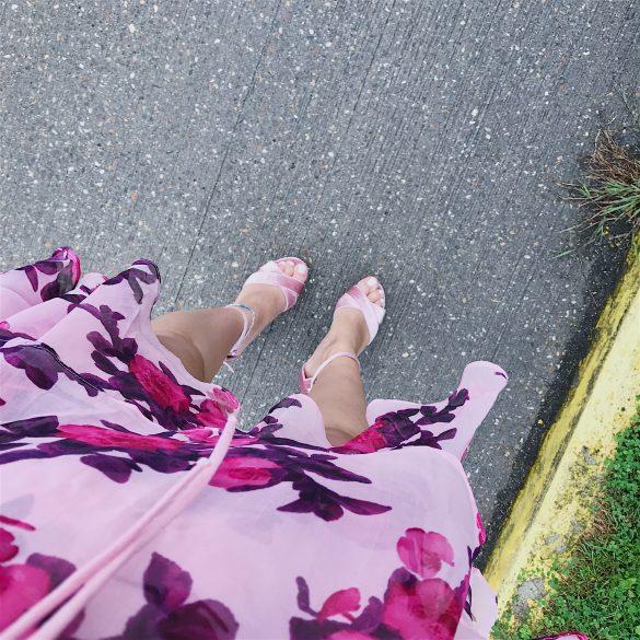 bruiloft, killer heels