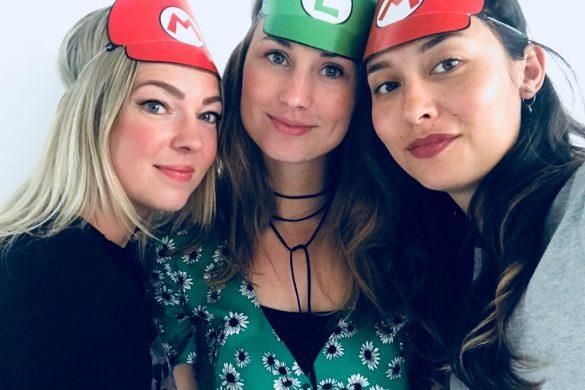 Feest in Super Mario stijl, inkooptrip en fotoshoot voor de nieuwe collectie
