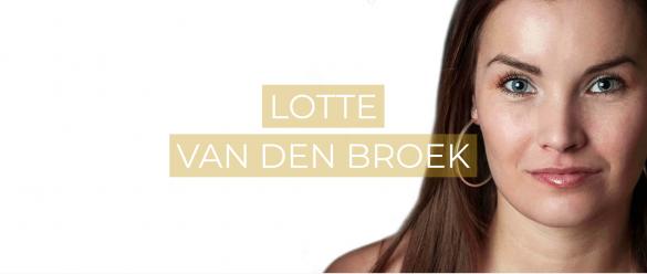 Lotte heeft een stem waar je u tegen zegt, maar gebruikt deze vooral om anderen te leren zingen!