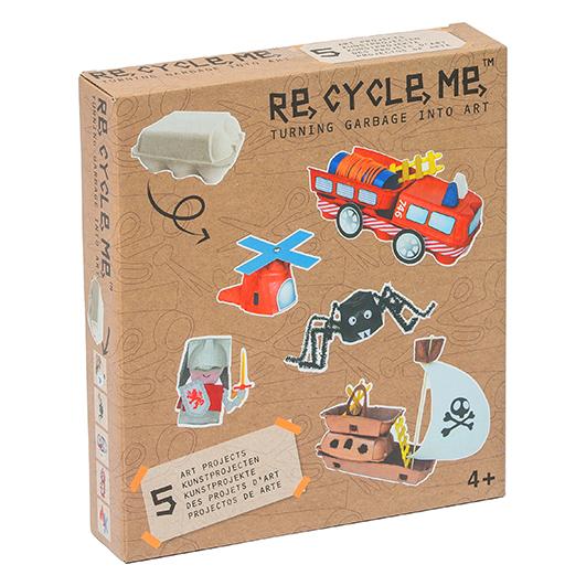Re-Cycle-Me: knutselen met afval, leuk of niet?